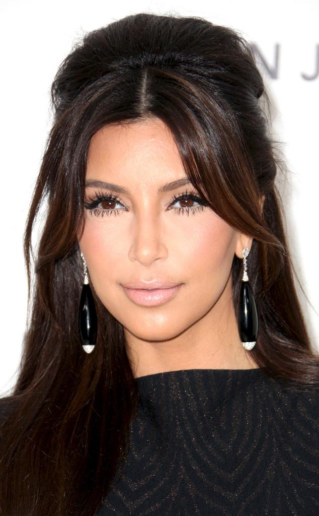 Kim Kardashian, Wedding Hair