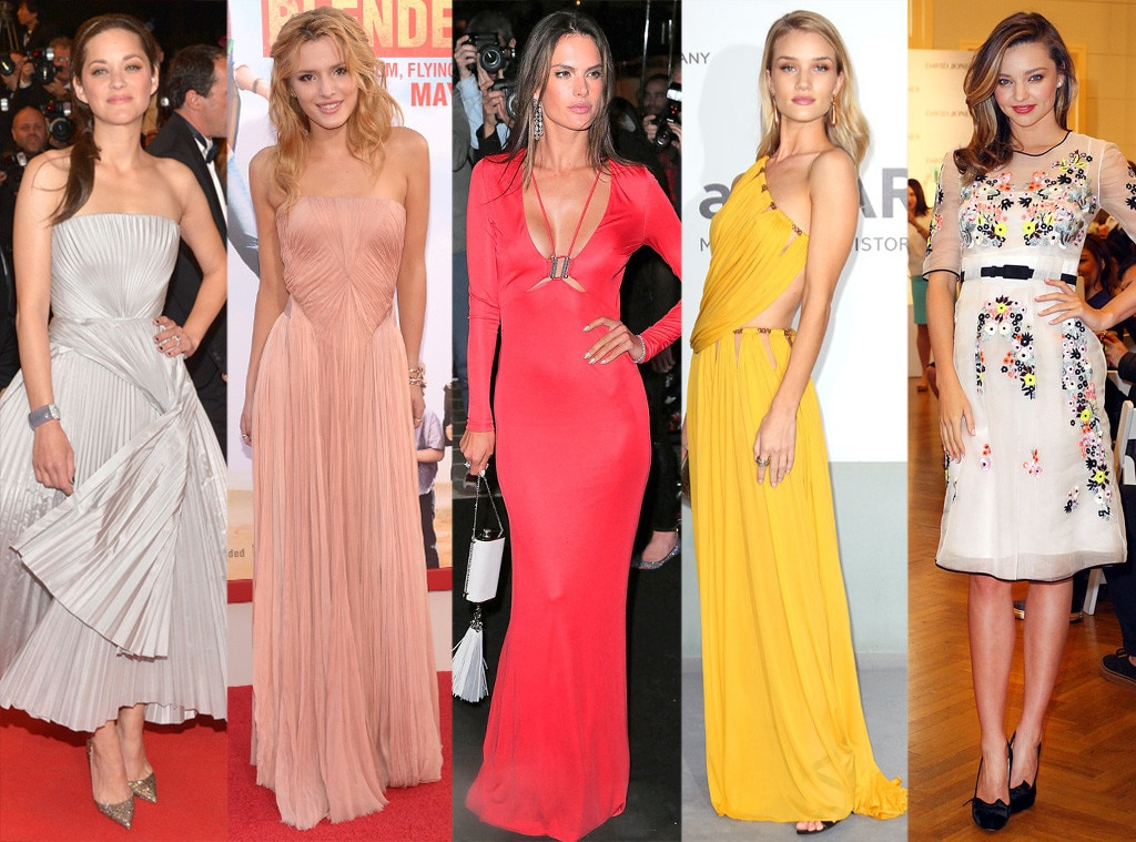 Best Looks of the Week, Marion Cotillard, Bella Thorne, Alessandra Ambrosio, Rosie Huntington-Whiteley, Miranda Kerr