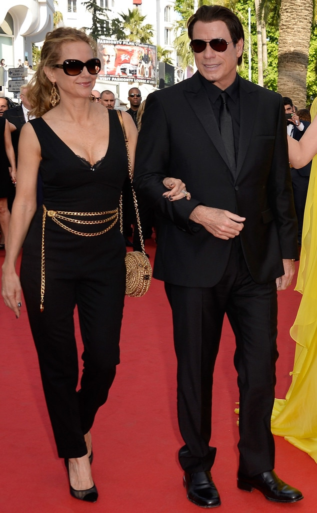 John Travolta, Kelly Preston, Cannes