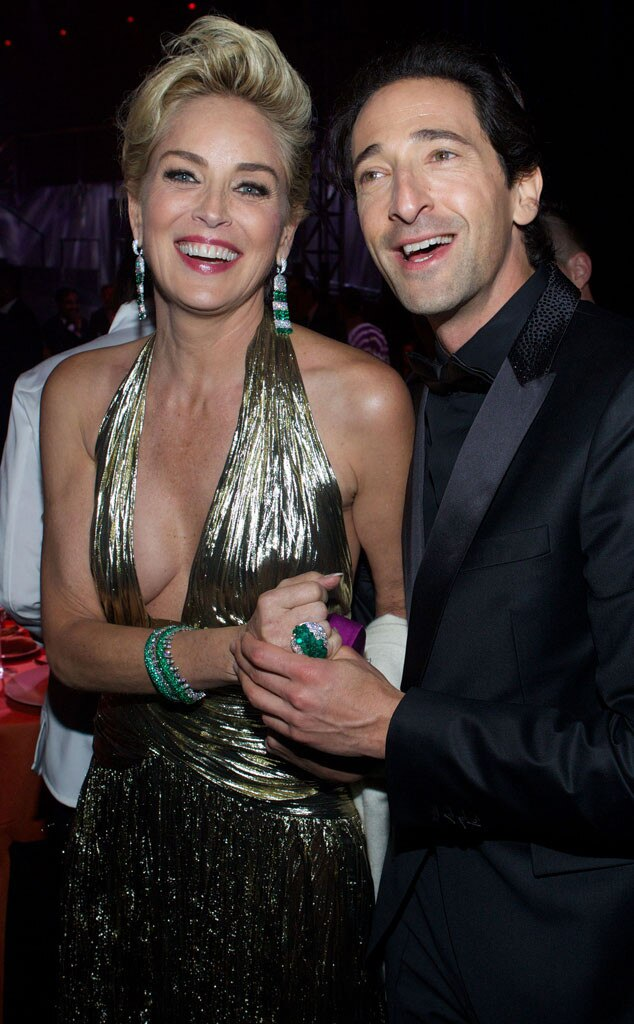 Adrien Brody, Sharon Stone