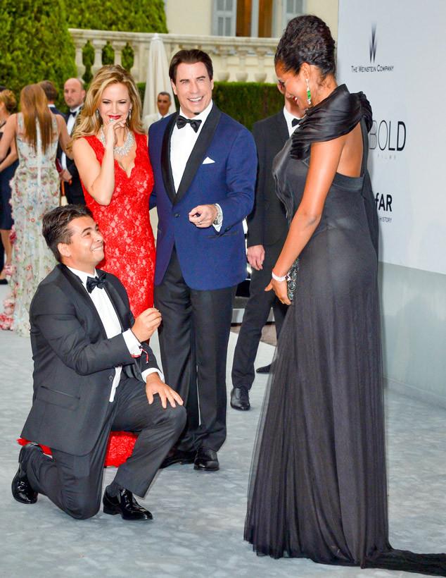 John Travolta, Kelly Preston, Oscar Generale, Denny Méndez