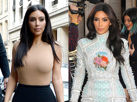 Kim Kardashian, Hair