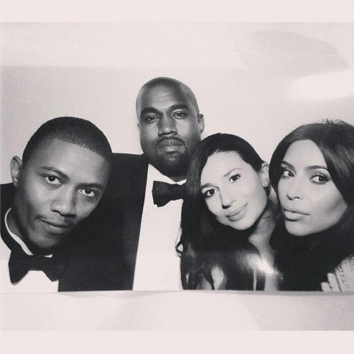Kim Kardashian, Kanye West, Wedding, Instagram