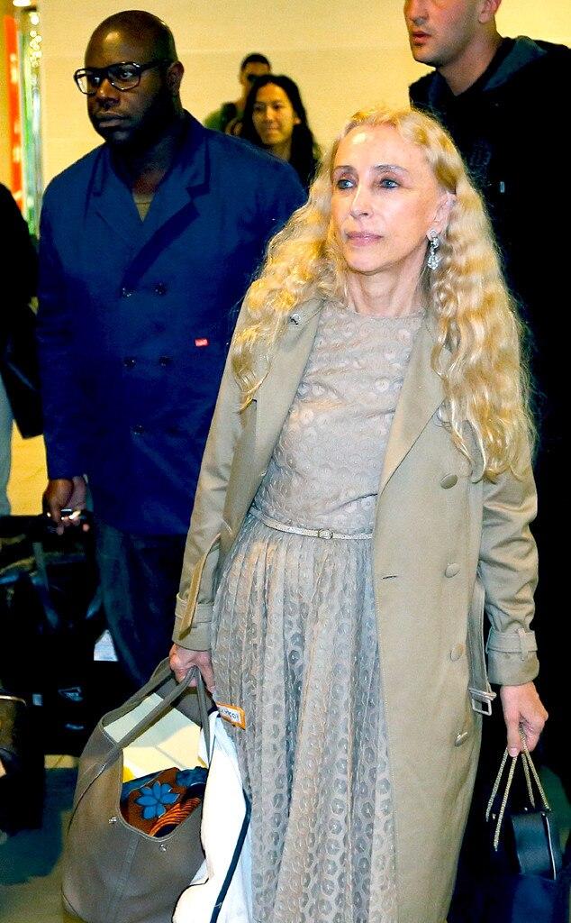 Steve McQueen, Franca Sozzani, Kimye Wedding Guests