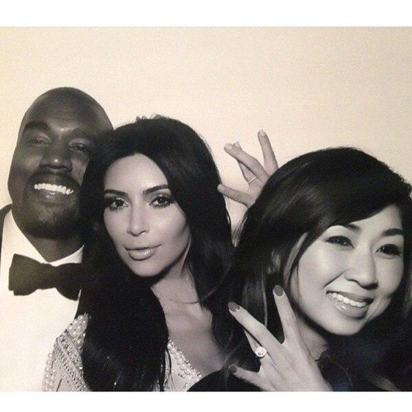 Tracy Nguyen, Kim Kardashian, Kanye West