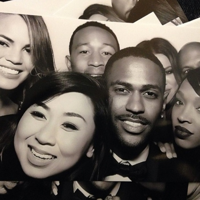 Big Sean, Kim Kardashian Kanye West, Kimye Wedding