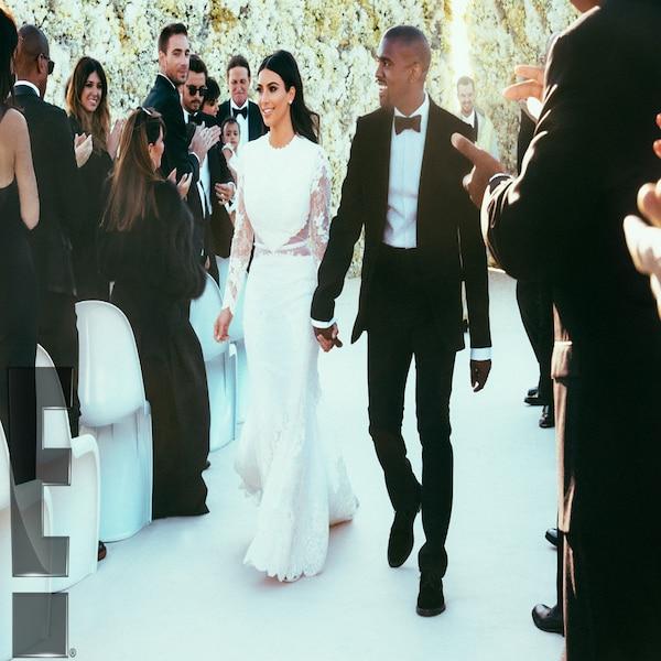 Kanye Kim Wedding: Introducing Mr. & Mrs. West! From Kim Kardashian & Kanye