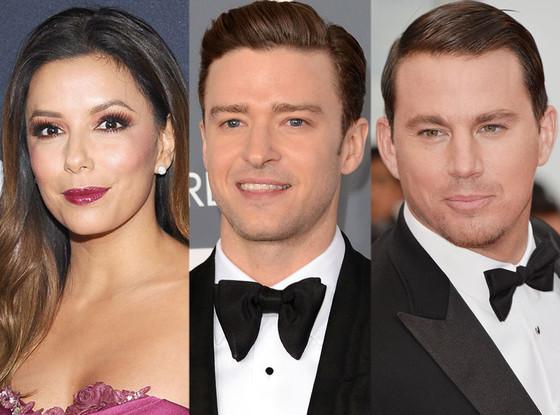 Eva Longoria, Justin Timberlake, Channing Tatum