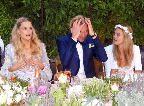 Poppy Delevingne, James Cook, Cara Delevingne