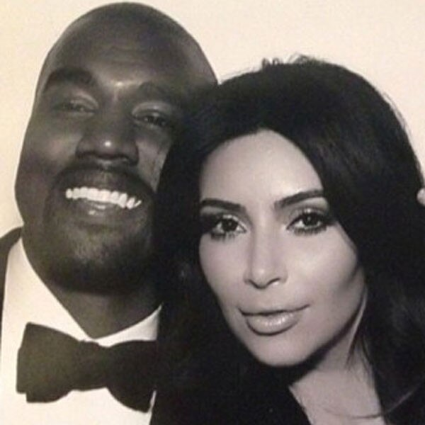 Kimye Wedding, Instagram, Kim Kardashian, Kanye West