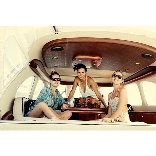 Doutzen Kroes, Adriana Lima, Candice Swanepoel, Instagram