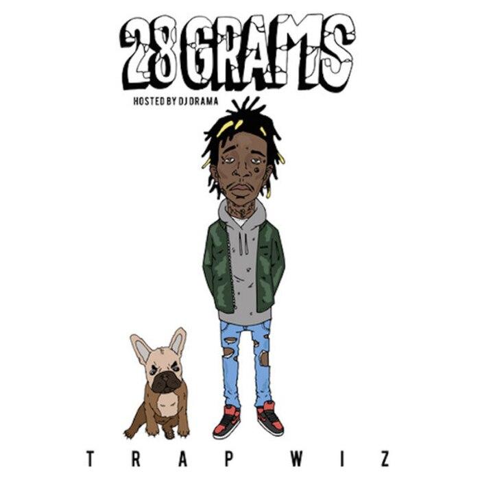 Wiz Khalifa, 28 Grams Cover Art
