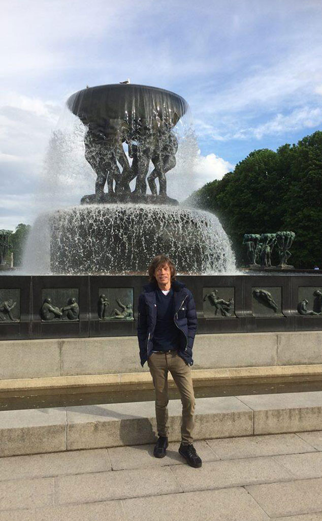 Mick Jagger, Twitter