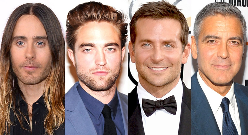 Best Hair, Bradley Cooper, George Clooney, Robert Pattinson, Jared Leto