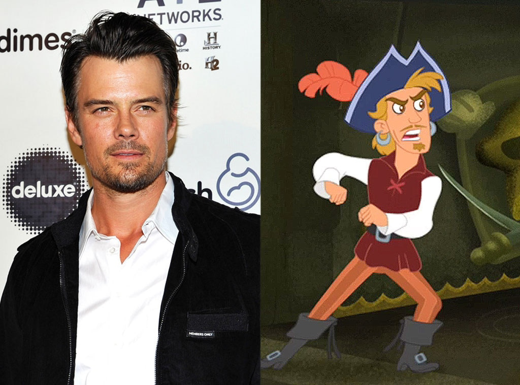 Celeb Voices, Josh Duhamel, Jake and the Neverland Pirates