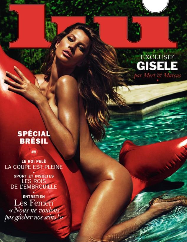 Gisele Bundchen, Lui Magazine