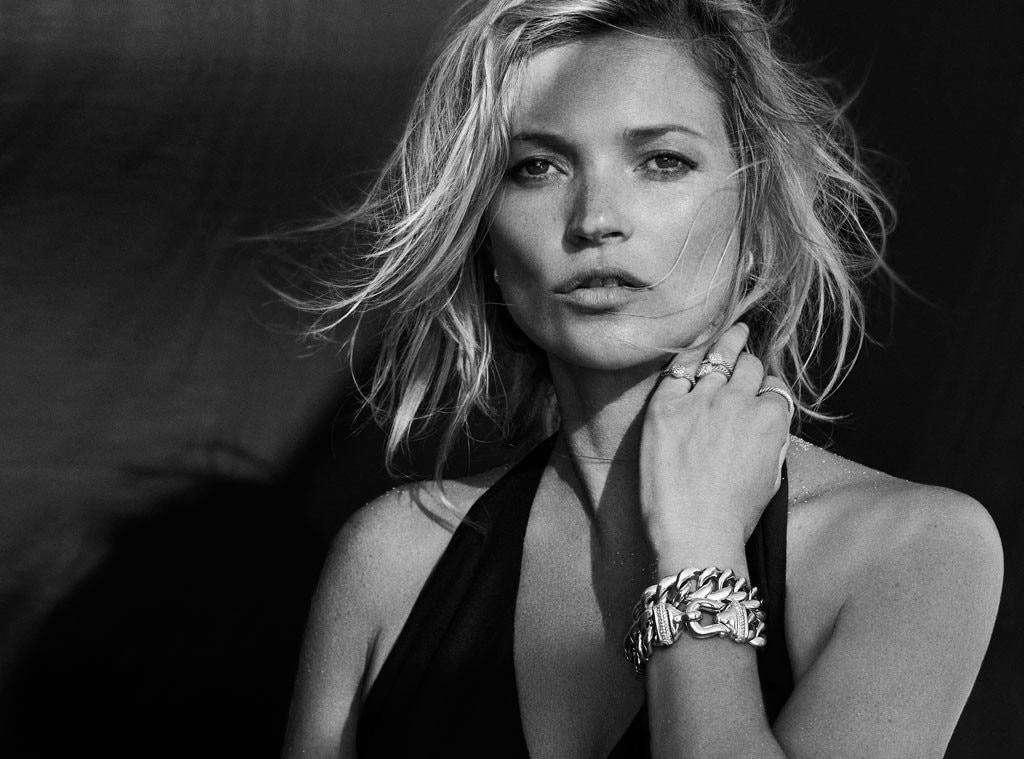 Kate Moss, David Yurman