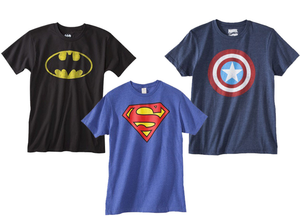 target superhero t shirts from father 39 s day 2014 gift. Black Bedroom Furniture Sets. Home Design Ideas