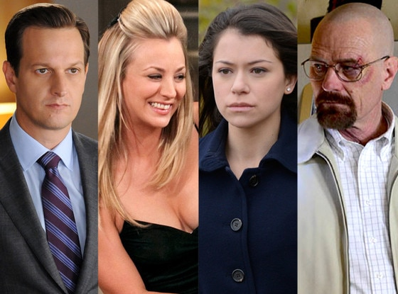 Kaley Cuoco, Big Bang, Josh Charles, Good Wife, Tatiana Maslany, Orphan Black, Bryan Cranston, Breaking Bad
