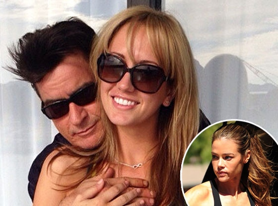 Charlie Sheen, Brett Rossi, Twitter, Denise Richards