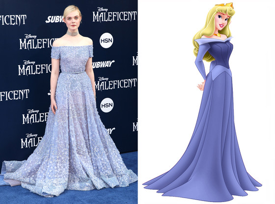 Elle Fanning, Sleeping Beauty, Princess Aurora