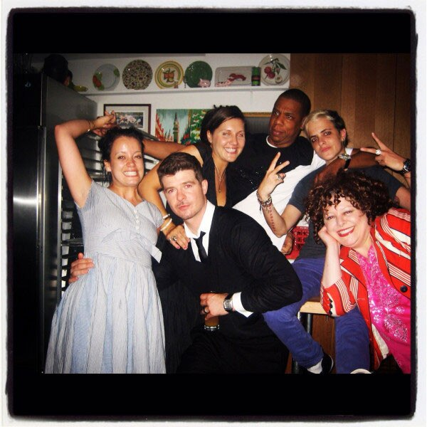 Lily Allen Famous Friends
