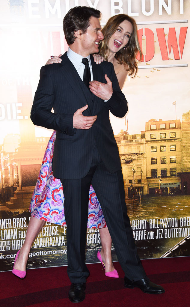 Emily Blunt, Tom Cruise