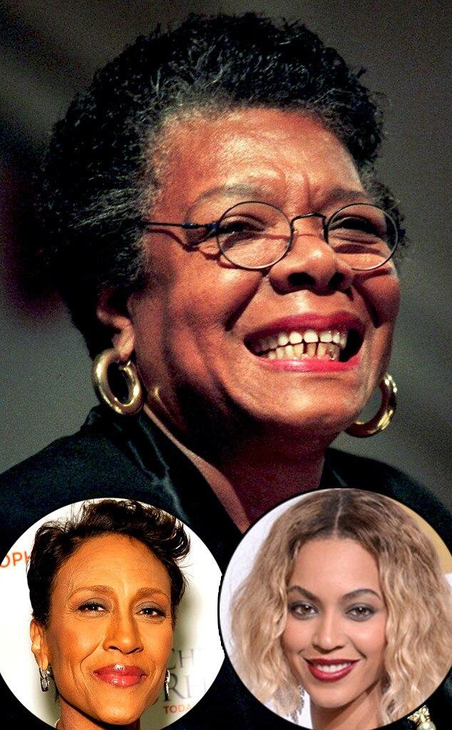 Beyonce, Robin Roberts, Maya Angelou