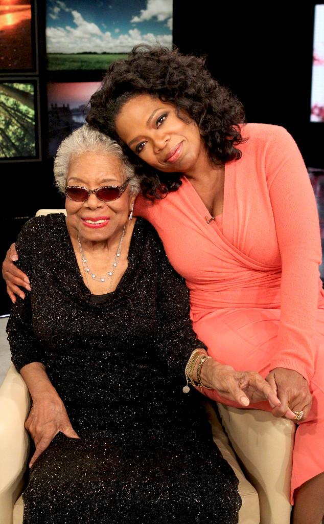 Maya Angelou, Oprah