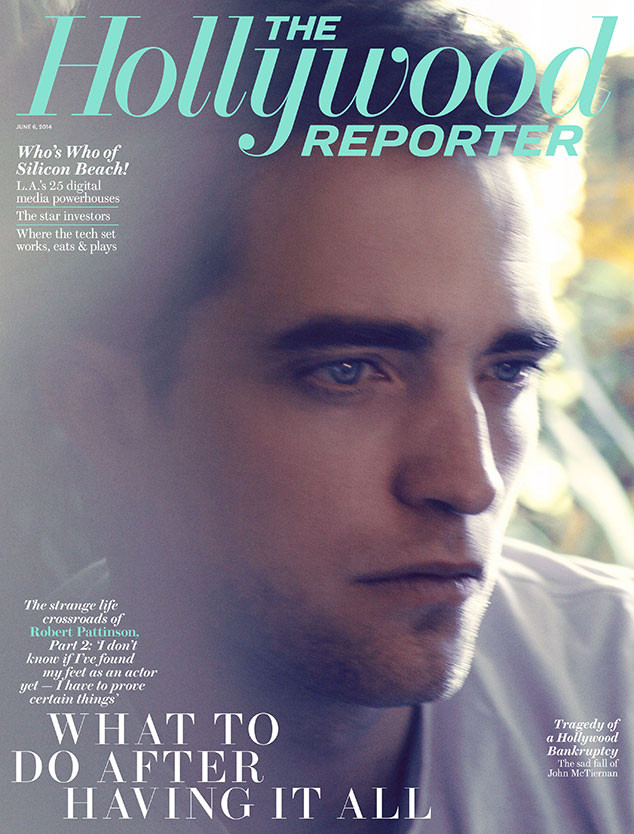 Robert Pattinson, The Hollywood Reporter