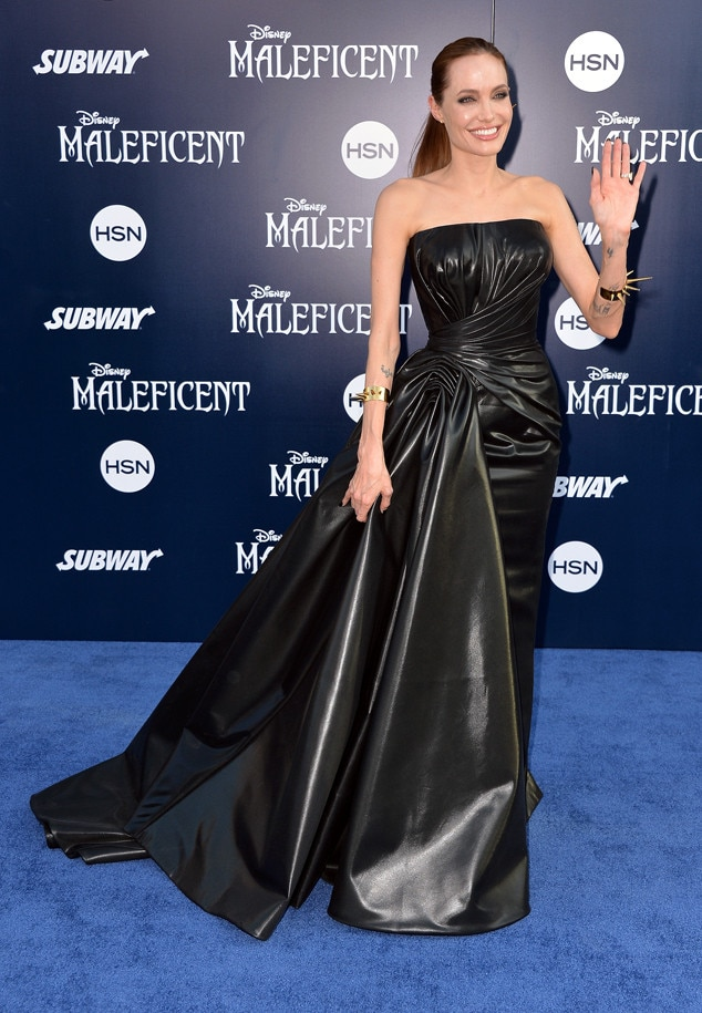 Angelina Jolie, Maleficent, Latex