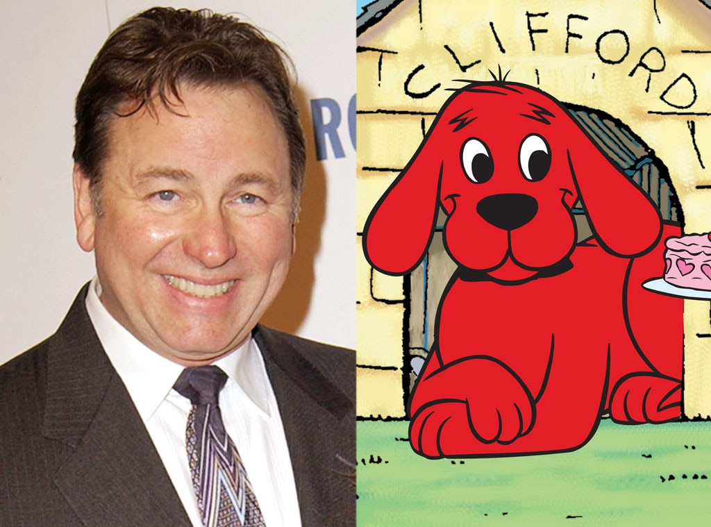 Voices On Clifford The Big Red Dog