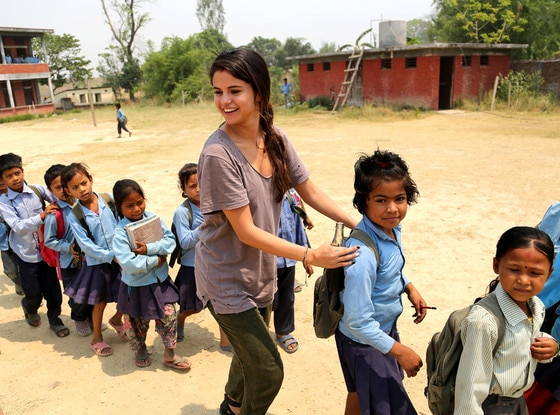 Selena Gomez Visits Nepal On Behalf Of Unicef See The Pics