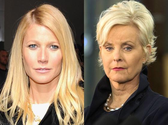 Gwyneth Paltrow, Cindy McCain