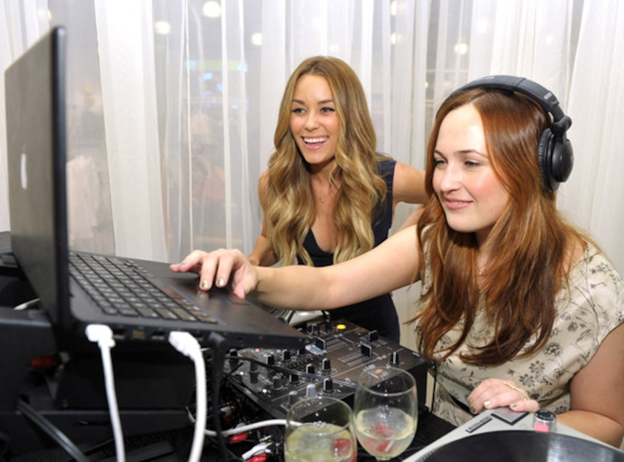 Lauren Conrad, DJ Jilly Hendrix