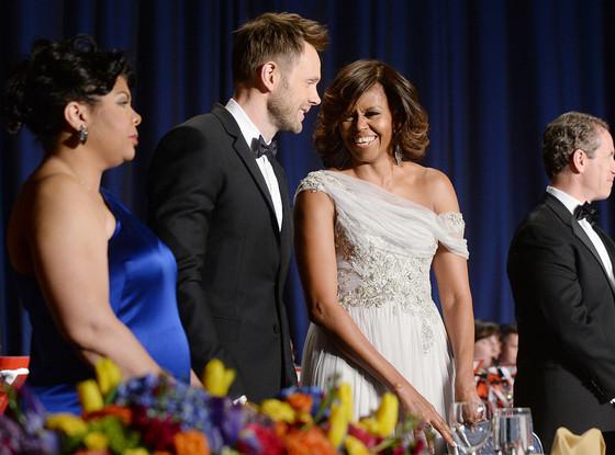 Michelle Obama, Joel Mchale, White House Correspondents Dinner