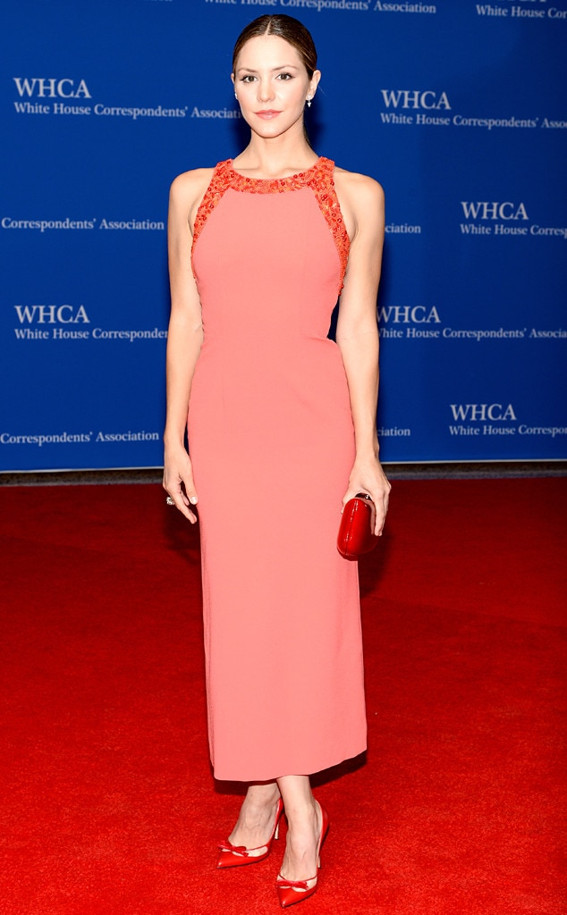 Katharine McPhee, White House Correspondents Dinner