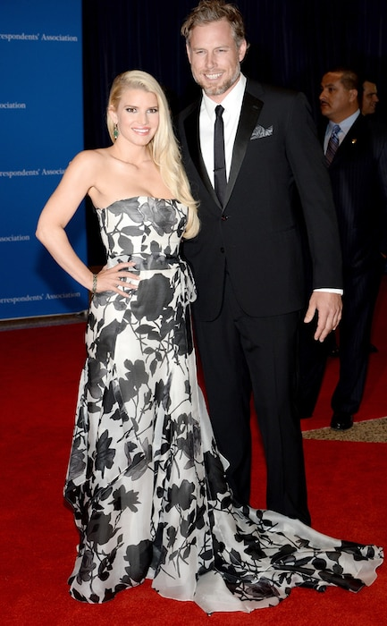 Jessica Simpson, Eric Johnson, White House Correspondents Dinner