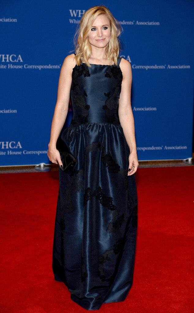 Kristen Bell, White House Correspondents Dinner