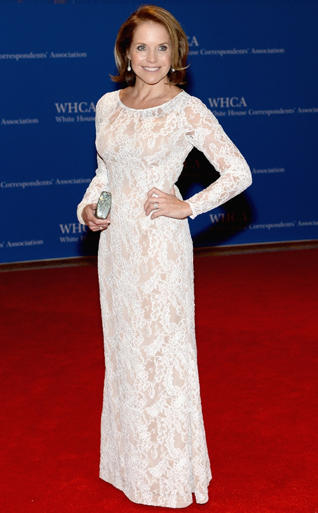 Katie Couric, White House Correspondents Dinner