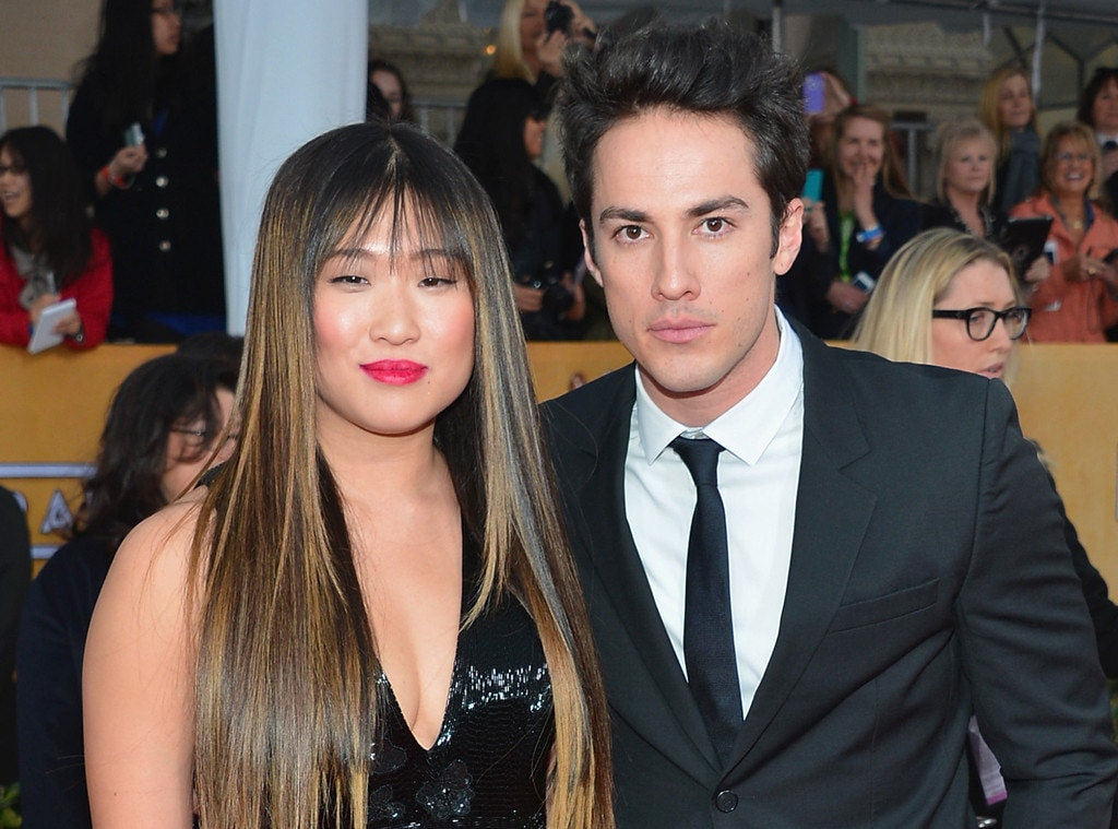Glee's Jenna Ushkowitz and The Vampire Diaries' Michael ...