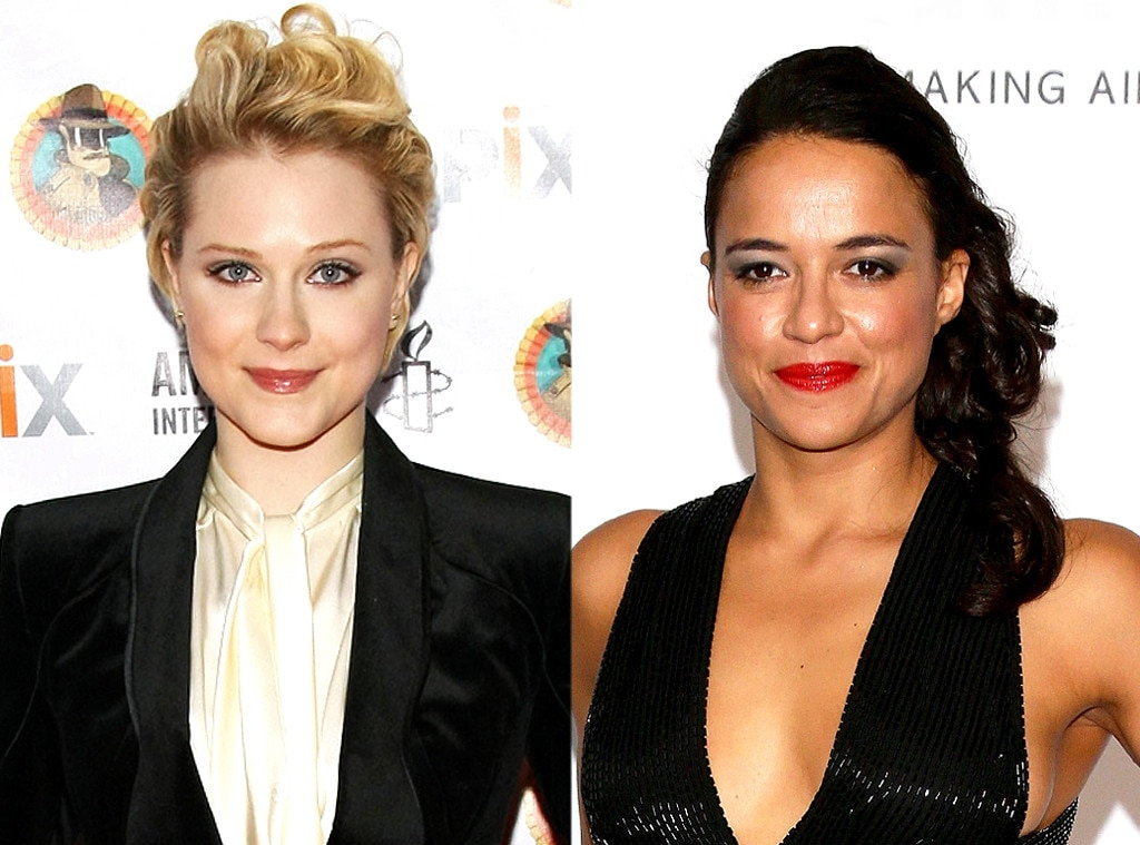 Evan Rachel Wood, Michelle Rodriguez