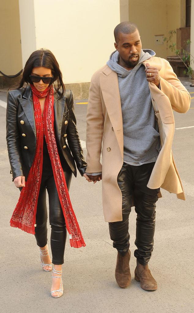 Kim Kardashian, Kanye West, Prague