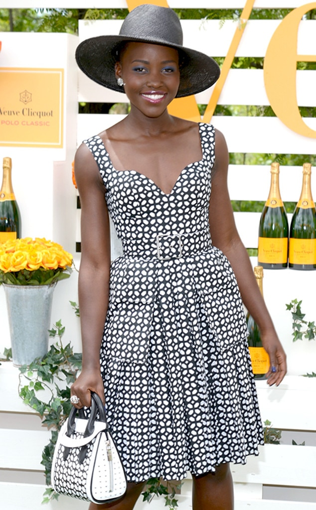Lupita Nyong'o, Veuve Clicquot Polo Classic