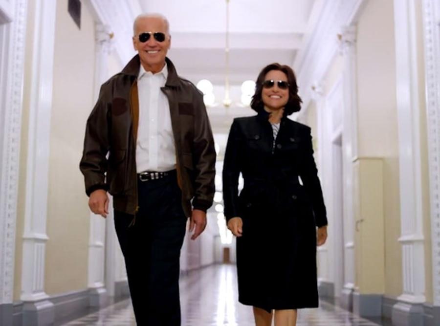 Joe Biden, Julia Louis-Dreyfus