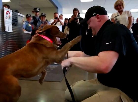 Sgt. Jason Bos, Military Dog