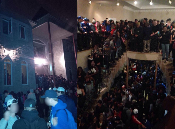 2 000 Teens Attend Massive Mansionparty And Cause 70 000