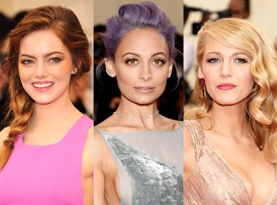 Blake Lively, Emma Stone, Nicole Richie, MET Gala, Beauty