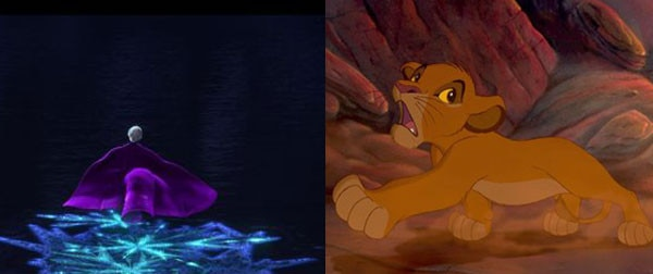 Frozen, Lion King