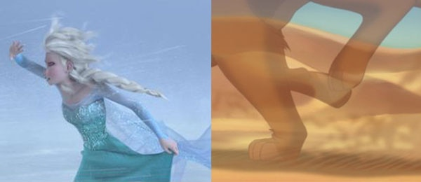 Frozen, Lion King